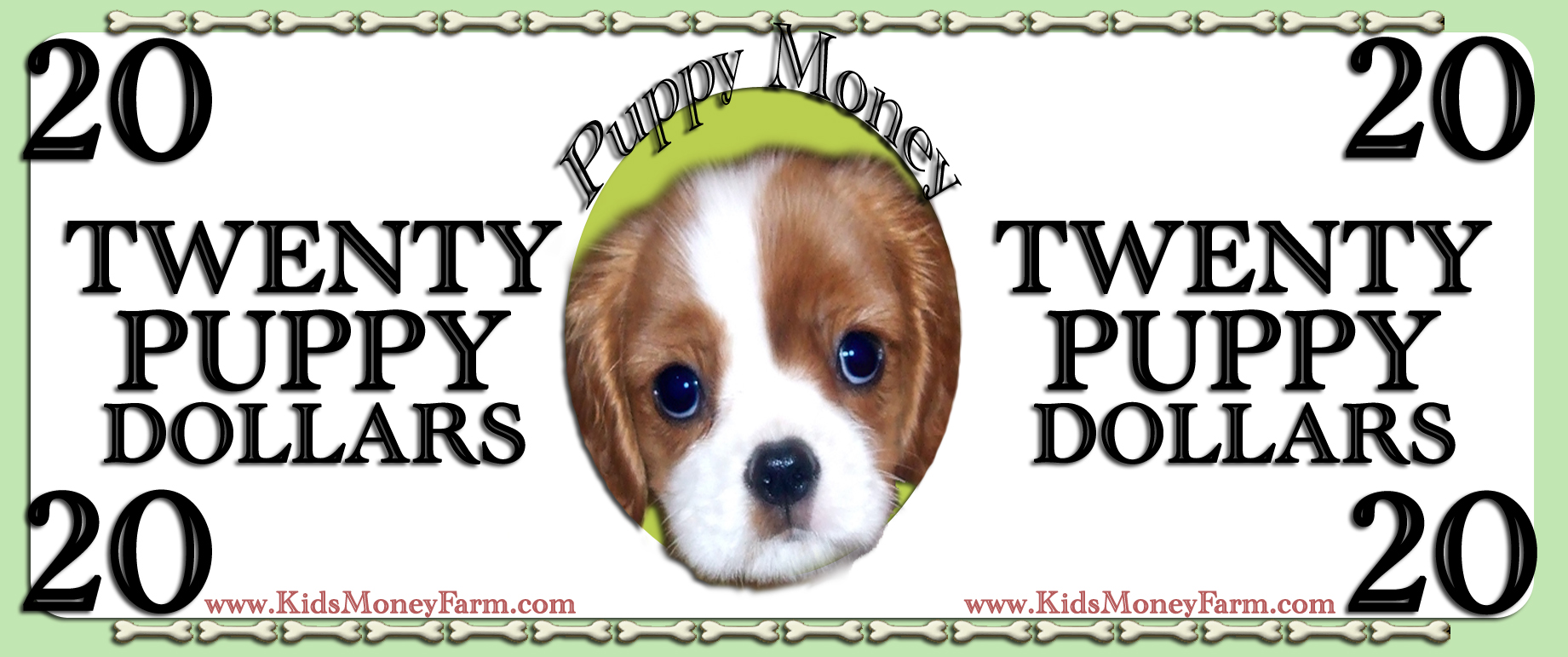 graphic about Play Money Templates named Pet dog Funds Participate in Revenue Templates